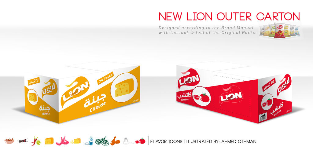 lion new carton design by marwanzahran on deviantart