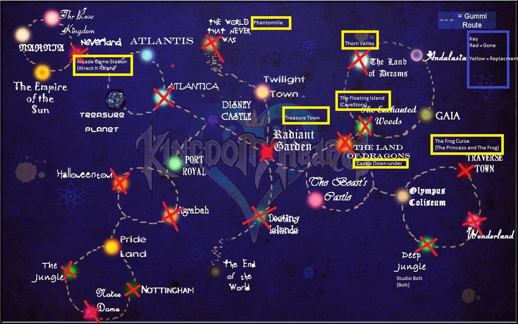 Kingdom Hearts The New World Universe by SyntheticShark on DeviantArt