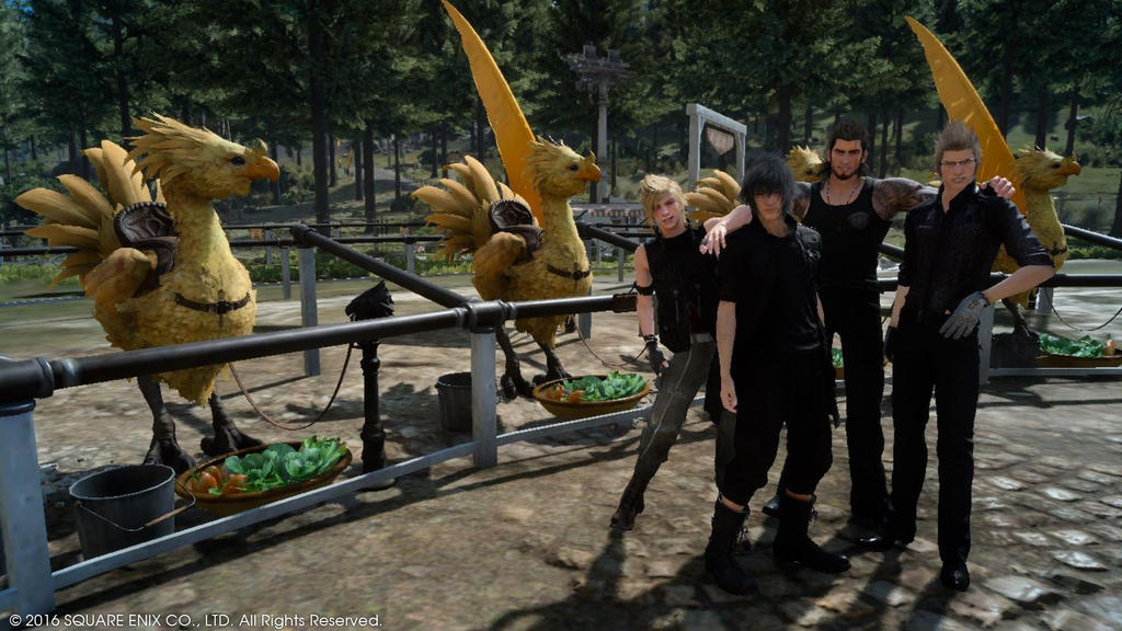 FF15 - Me and the bois by SyntheticShark
