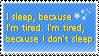 Sleeping by SilverMoon255