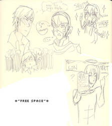 FE and Free scribbles by ikemama