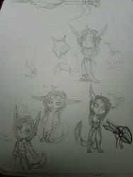 Daily Doodle 2 by kyo4kusanagi