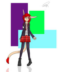 Kira In School Uniform by kyo4kusanagi