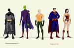 Justice League set 1
