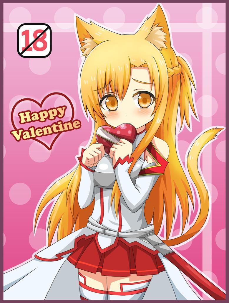 Happy Valentine !! by GreenTeaNeko