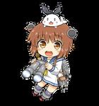 Yukikaze Chibi