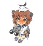 Yukikaze Chibi Damaged Version