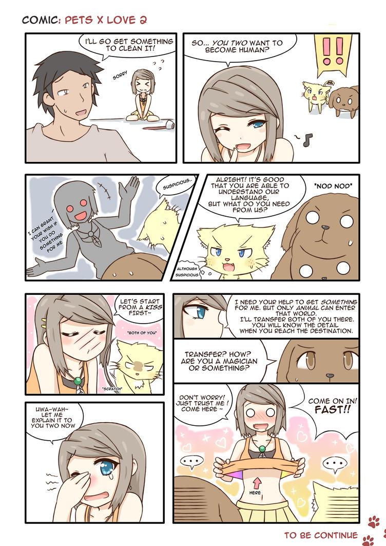 Pet x Love page 2 by GreenTeaNeko