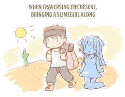 Slimegirls are convenient page 2 by GreenTeaNeko