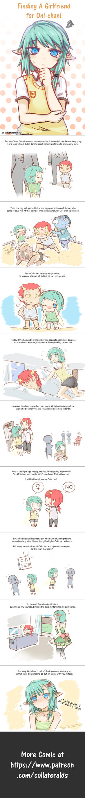 Webcomic: Finding A Girlfriend For Oni-chan!