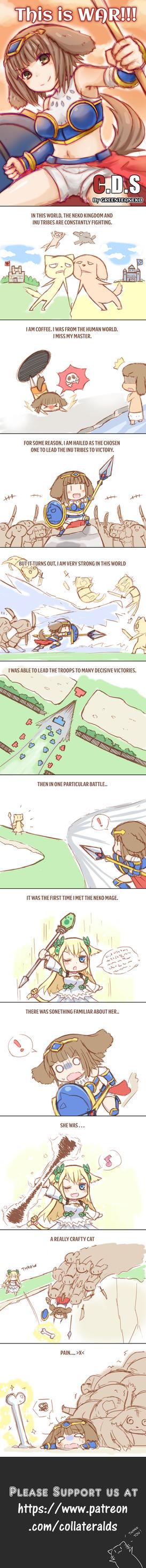 MonGirl Series: This Is War by GreenTeaNeko