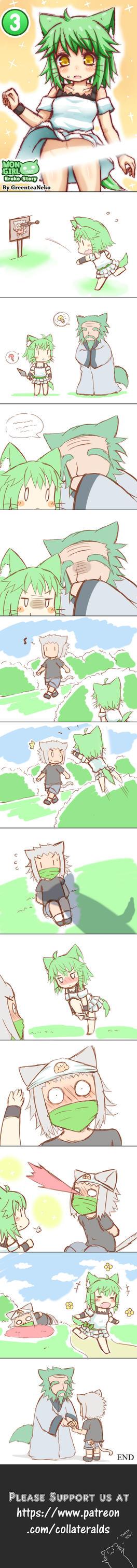 MonGirl Eroko Chapter 3 by GreenTeaNeko