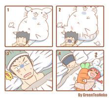 MonGirl 4Koma 1 by GreenTeaNeko