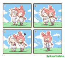 MonGirl 4koma 3 by GreenTeaNeko