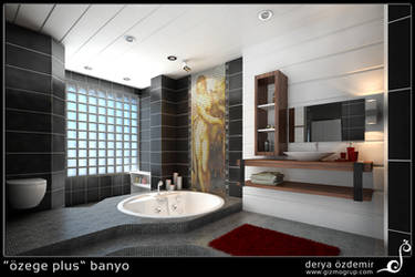 bathroom by derya-turec