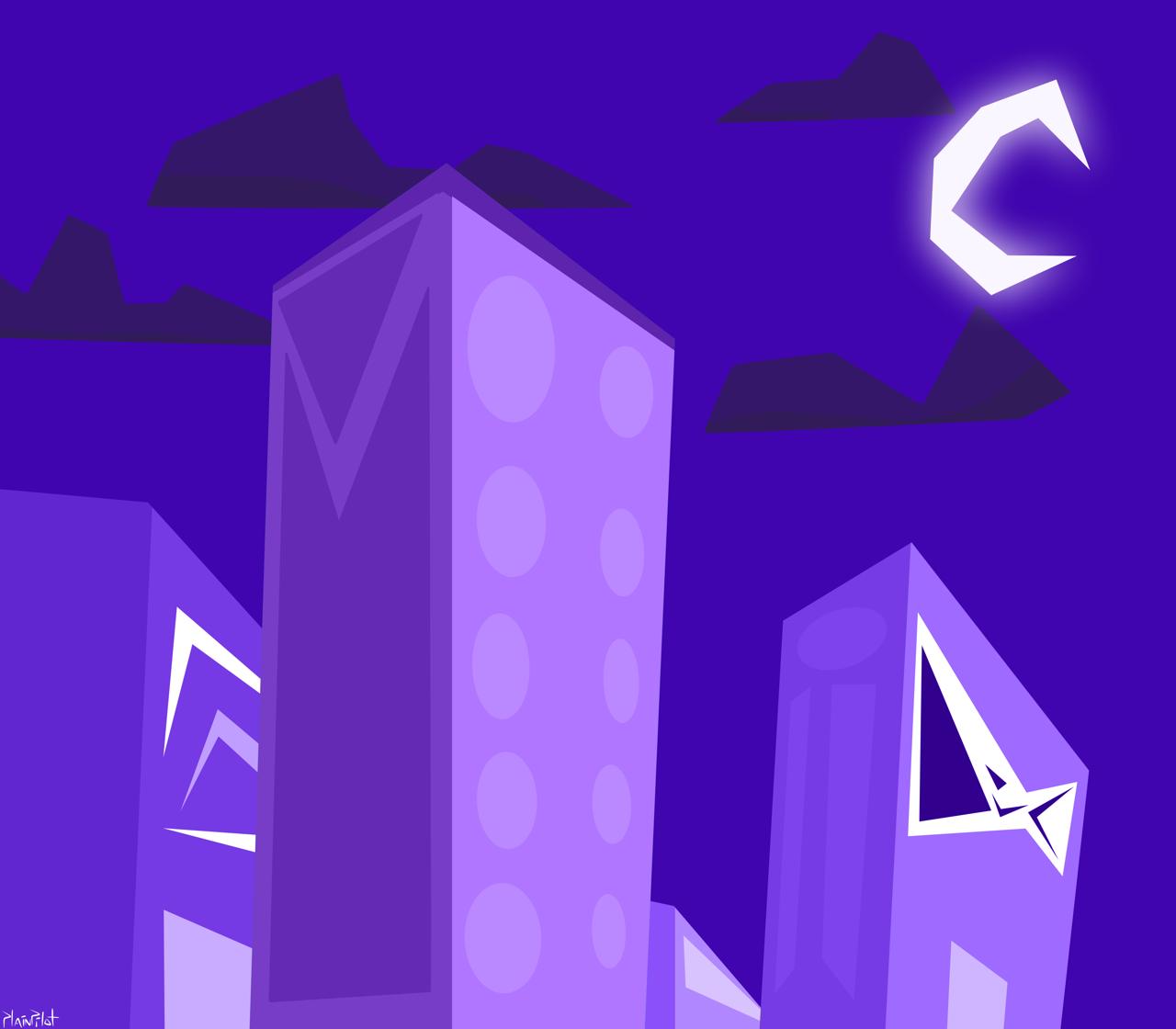 Night City by PlainPilot
