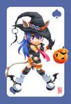 AnimSchool Halloween Girl
