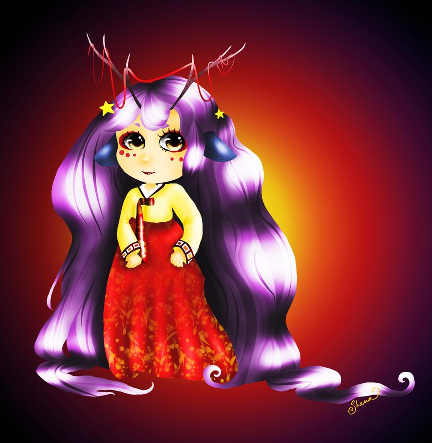 Kirin Girl by ArtfulVoyage