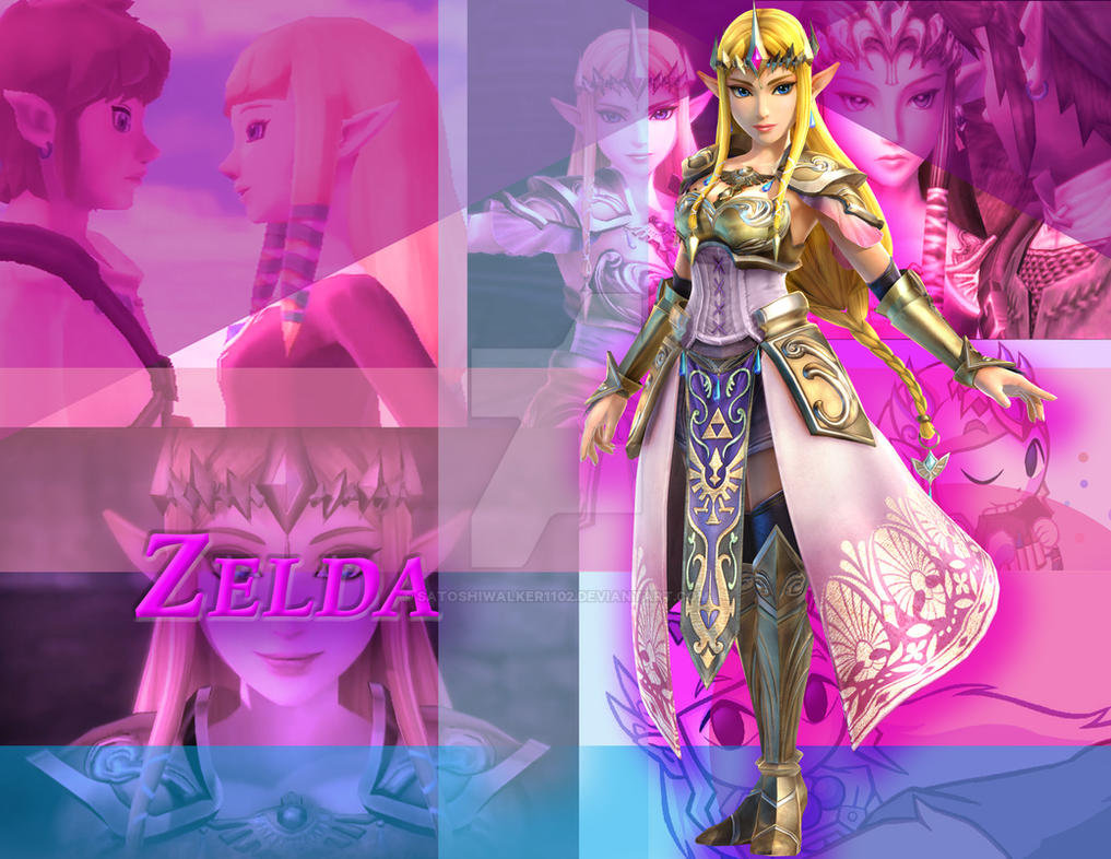 Zelda by satoshiwalker1102