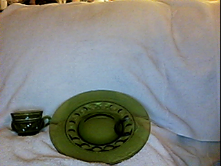 plate and cup set by cheychey145