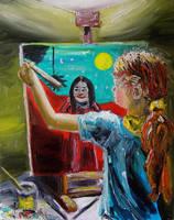 Painting by NancyvandenBoom
