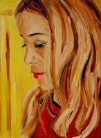 My daughter by NancyvandenBoom