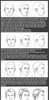 Basic Head Tutorial: Male by timflanagan