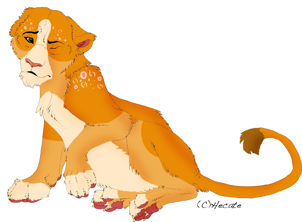 Lion Cub adopt by vitani211