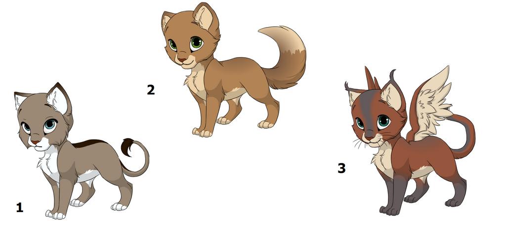 Feline adopations by vitani211