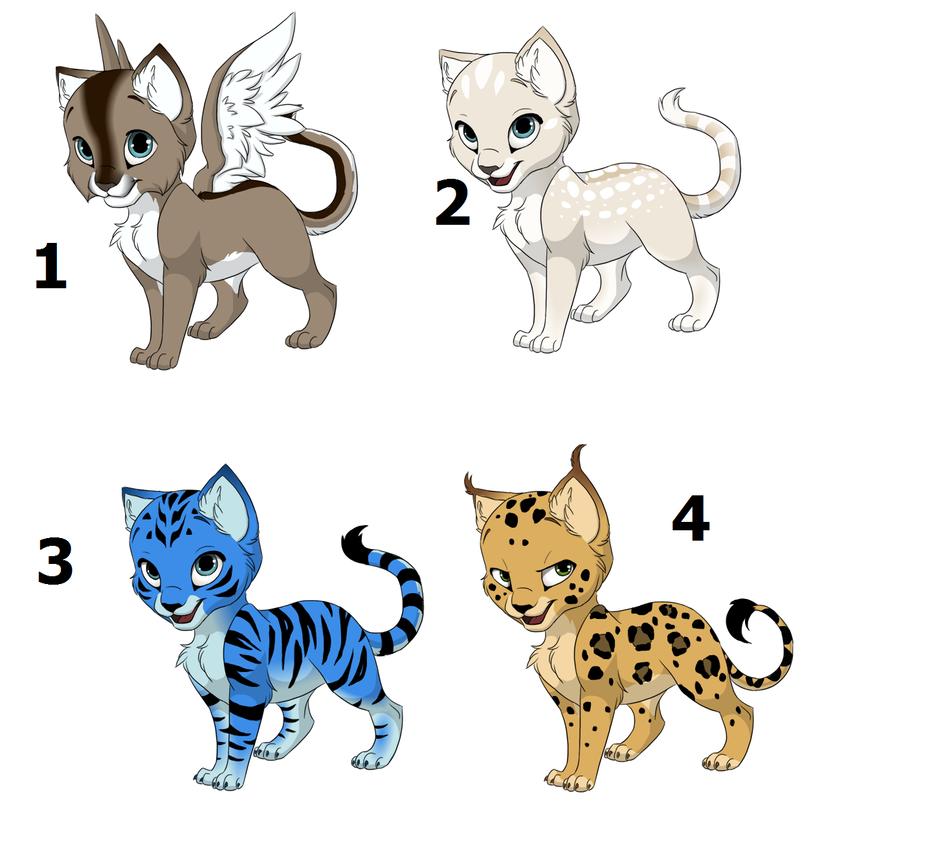 Feline adopations 2 by vitani211