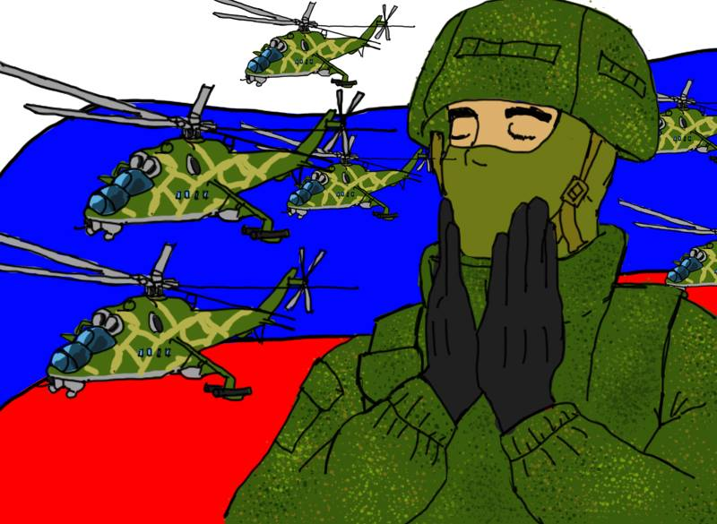 5 chechens are russian fucked a prostitute without a condom 5