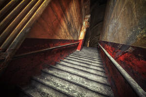 ancient stairs by schnotte