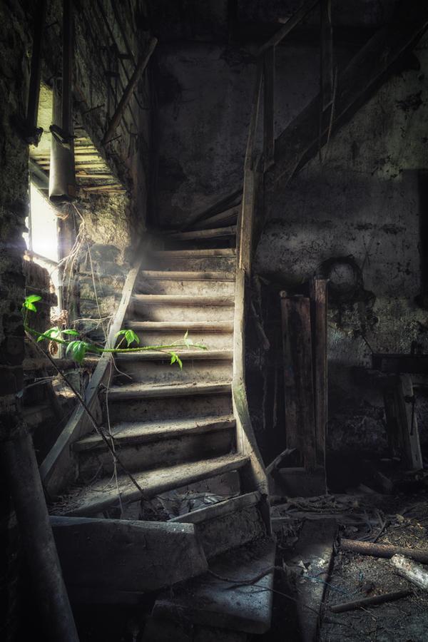 stairwell by schnotte