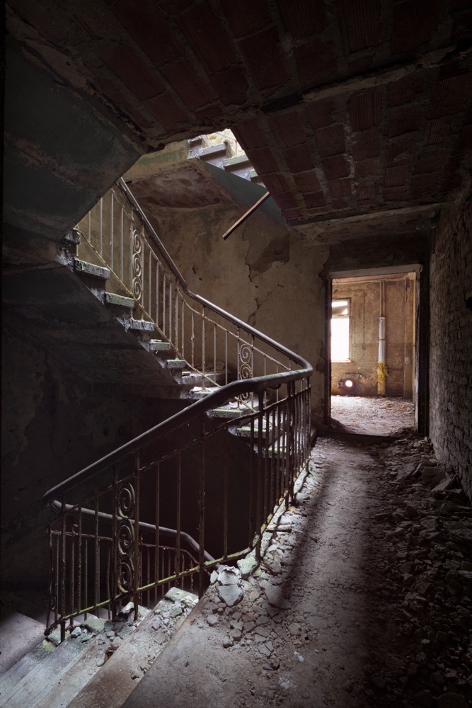 beelitz stairs by schnotte