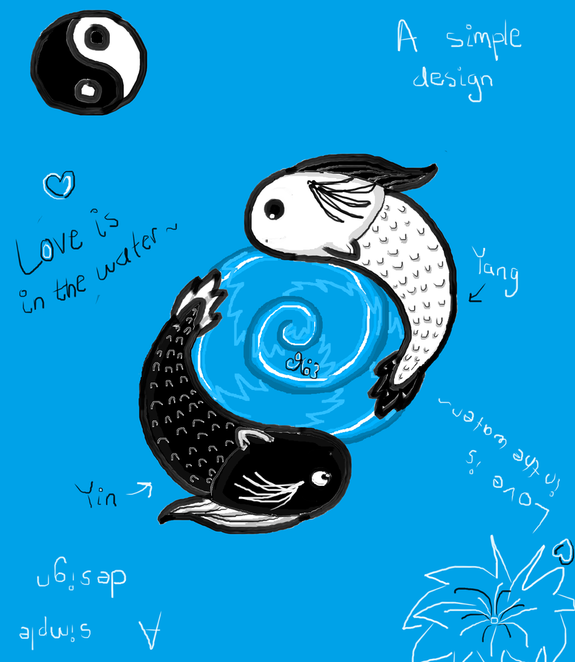 koi fish yin and yang by crysanthemum963 on deviantart. Black Bedroom Furniture Sets. Home Design Ideas