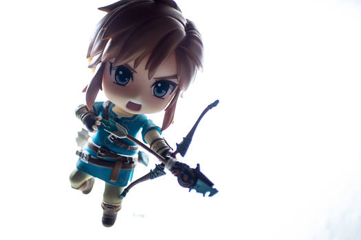 Cute Link hunting guardians