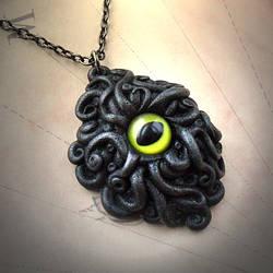 Cyaegha Necklace by CthulhuJewellery