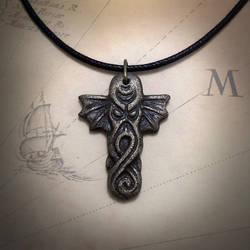 Cthulhu Amulet by CthulhuJewellery