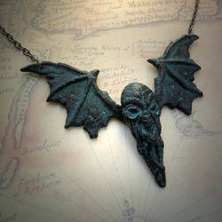 Cthulhu Fhtagn Necklace