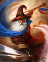 Elminster dude by JaredDennis