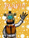 Playtime freddy poster v1