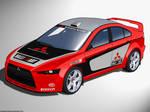 Lancer EVO X WRC