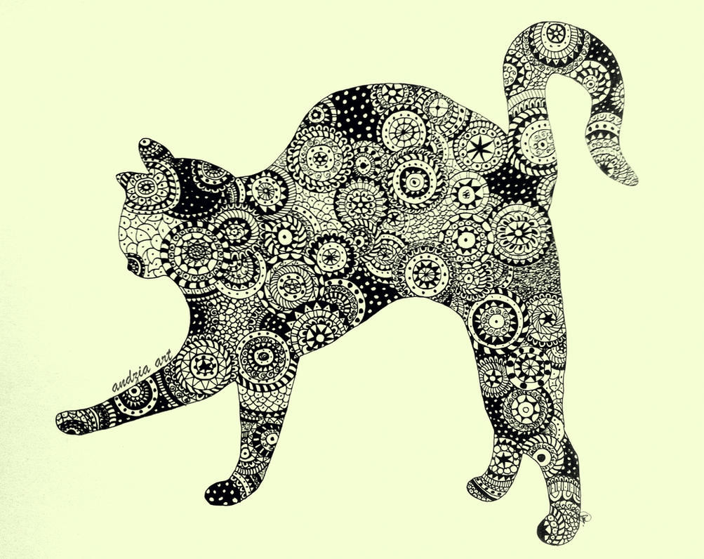 Mandala Cat by Anna655