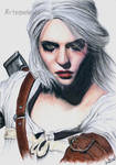 Ciri form The Witcher