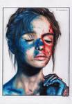 Blue-Red Girl