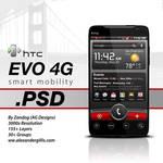 HTC EVO 4G .PSD