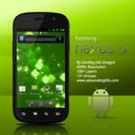 Samsung Nexus S .PSD
