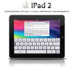 Apple iPad 2 .PSD