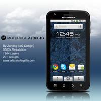 Motorola Atrix 4G .PSD by zandog