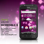 HTC Incredible S .PSD